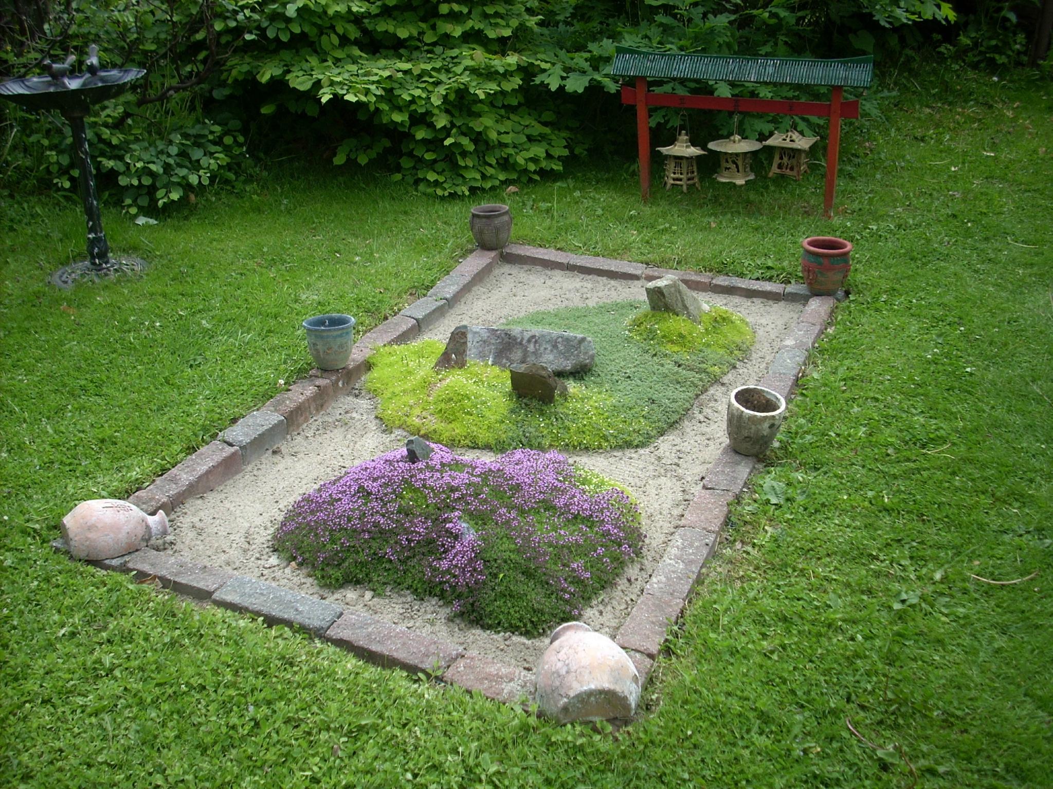 Un Petit Jardin Japonais Afin D`y Rajouter Un Peu Plus D ... encequiconcerne Petit Jardin Japonisant