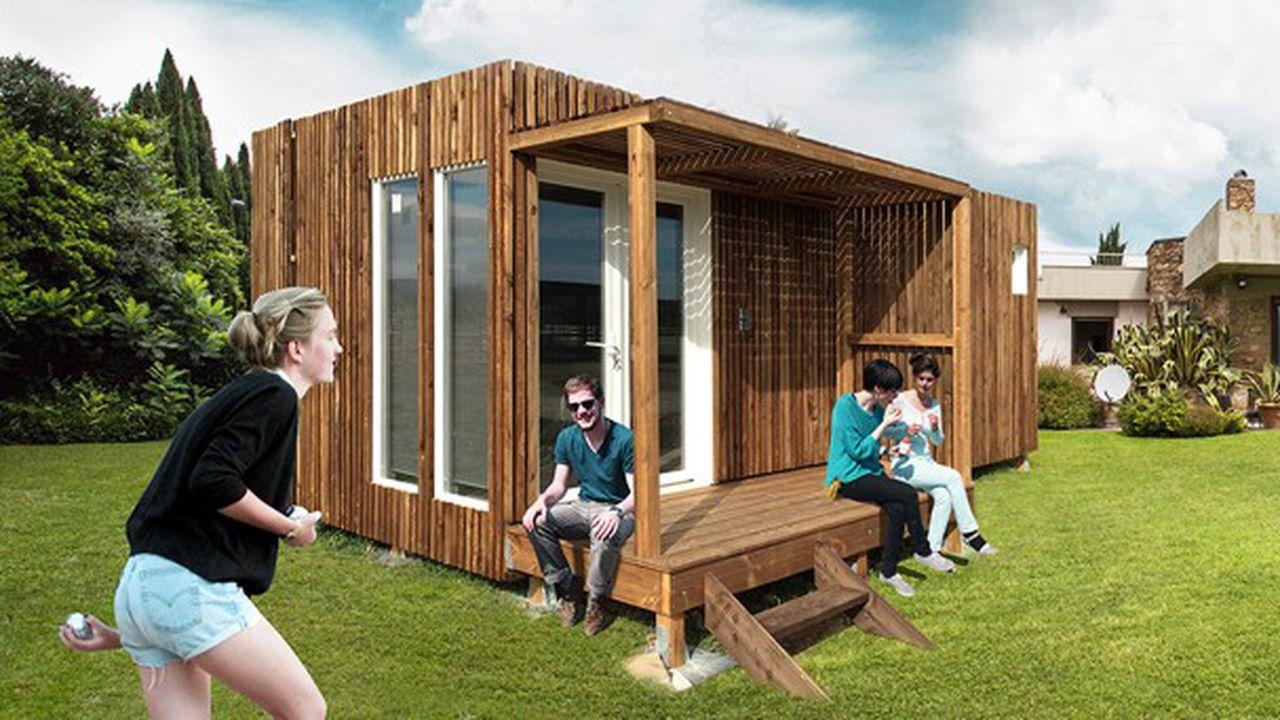 Un Studio Prêt À Poser Dans Son Jardin : Le Kub Teste Le ... à Abri De Jardin Habitable
