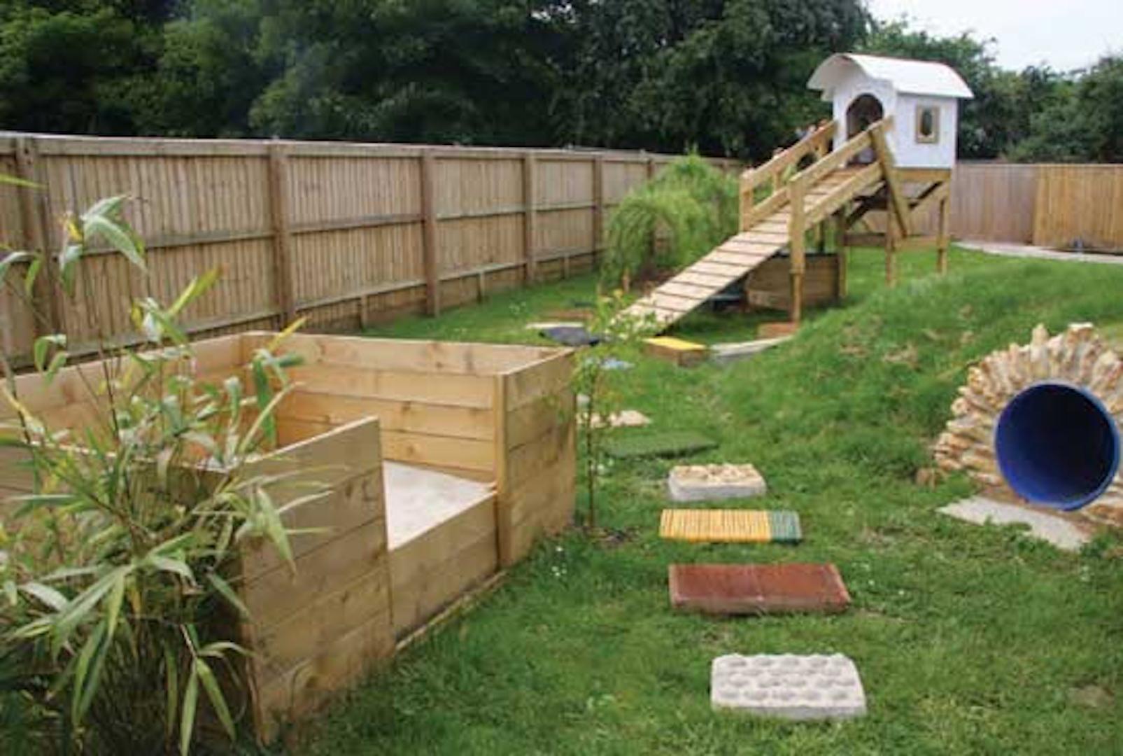 Un Terrain Adapté Aux Chiens – Jardinier Paresseux pour Barriere Jardin Pour Chien
