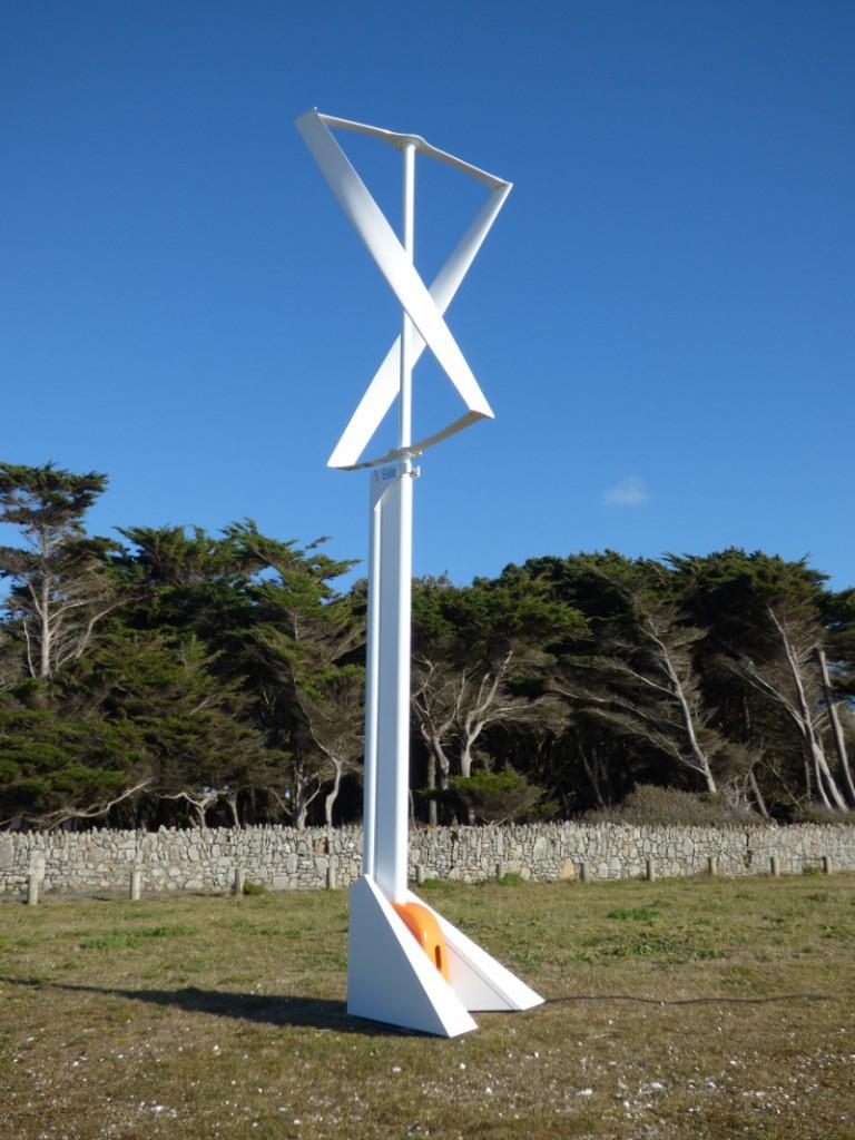 Une Éolienne Dans Votre Jardin – Blog Pages-Energie dedans Construire Une Eolienne De Jardin