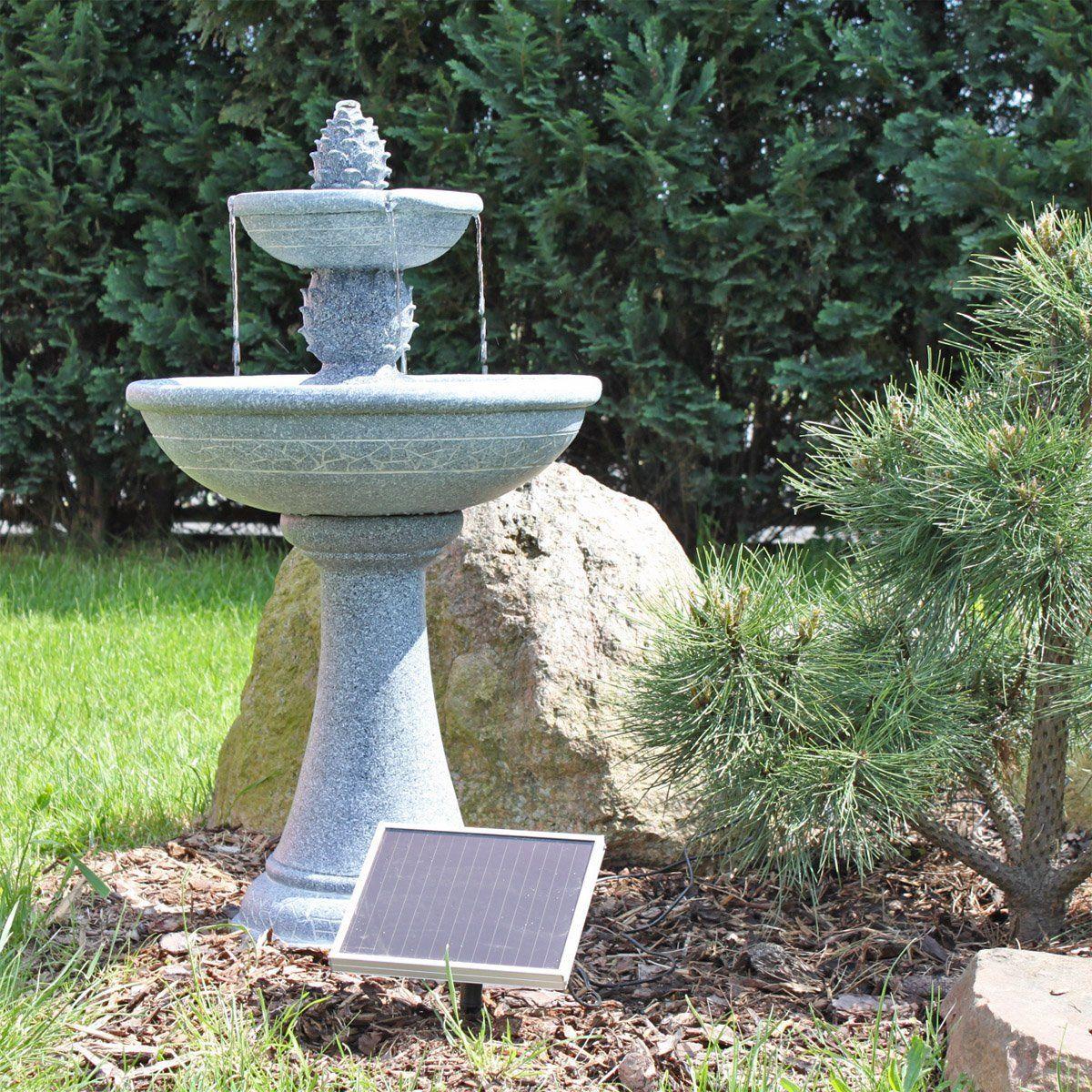 Une Jolie Fontaine Solaire Pour Jardin Zen En Extérieur ... encequiconcerne Fontaine Solaire Exterieur Jardin