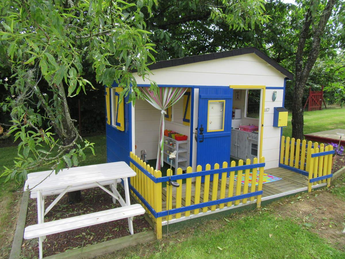 Une Maison Pour Les Enfants - Le Blog Du Bricolage à Maison De Jardin Pour Enfants