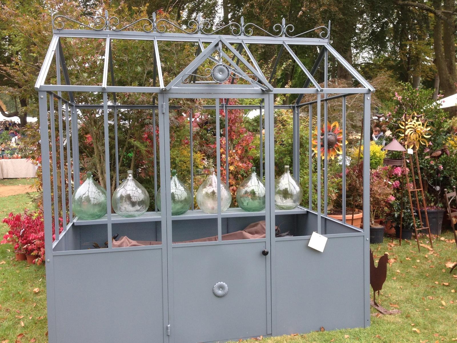 Une Serre Pour Les Semis Du Seeds Of Love - Jardins Merveilleux à Serre De Jardin Occasion