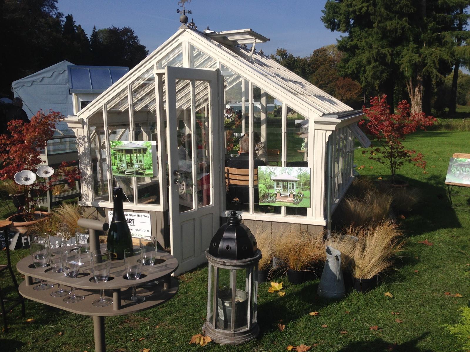 Une Serre Pour Les Semis Du Seeds Of Love - Jardins Merveilleux avec Serre De Jardin Occasion