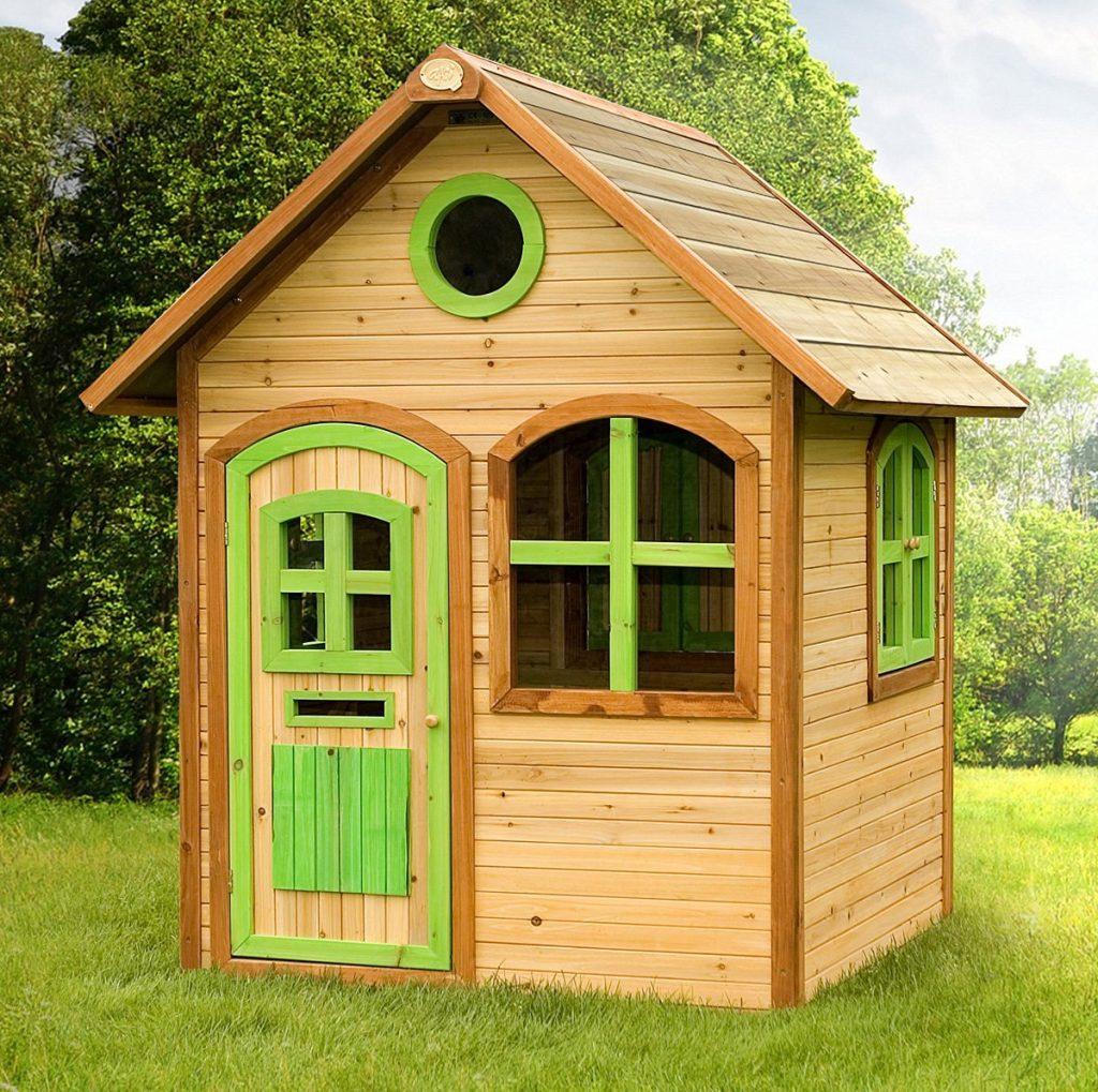Une Véritable Petite Maison En Bois : La Julia De Axi ... tout Maison Jardin Bois Enfant