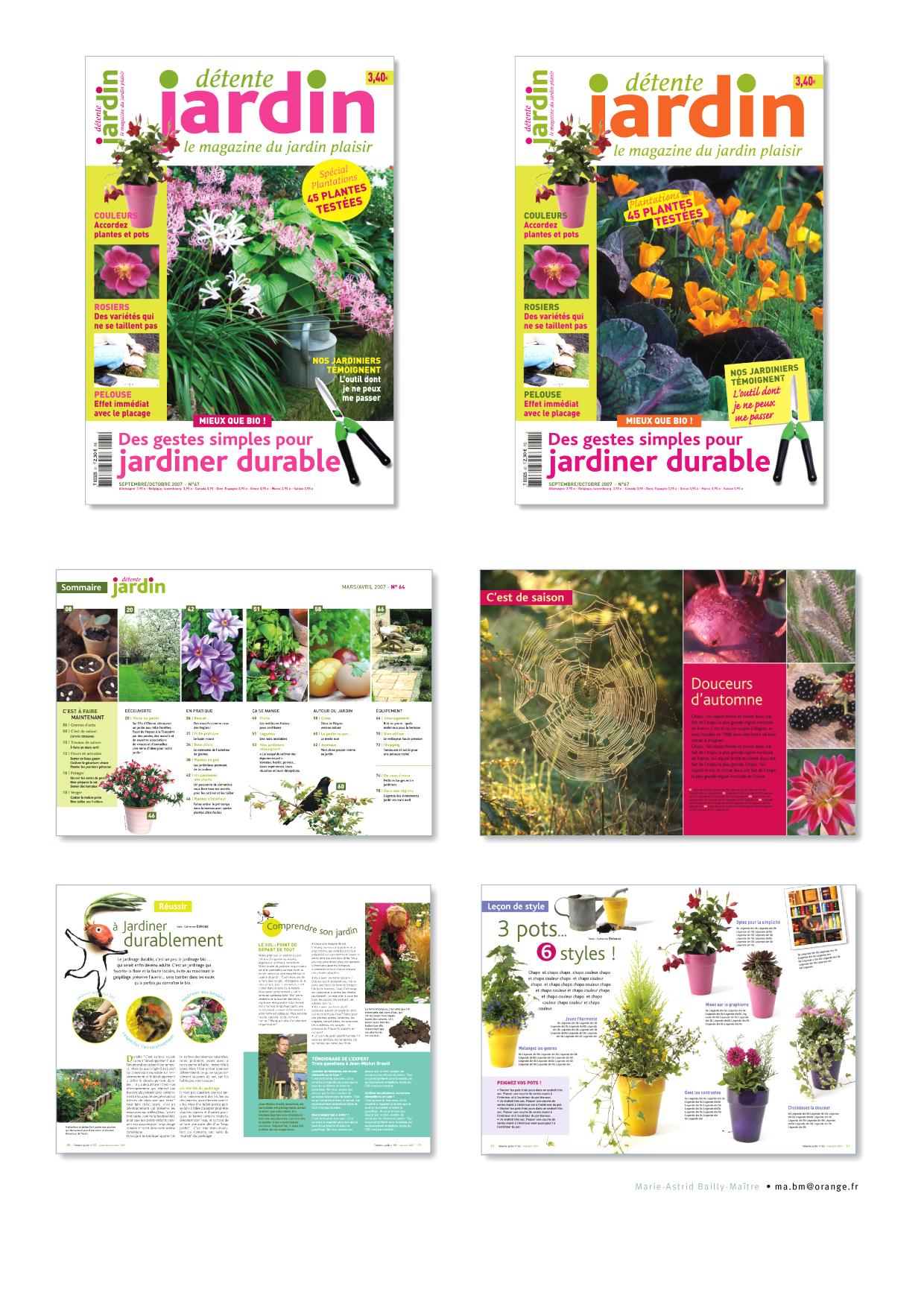 Uni Editions • Détente Jardin – Blogbook Mabm intérieur Détente Jardin Magazine