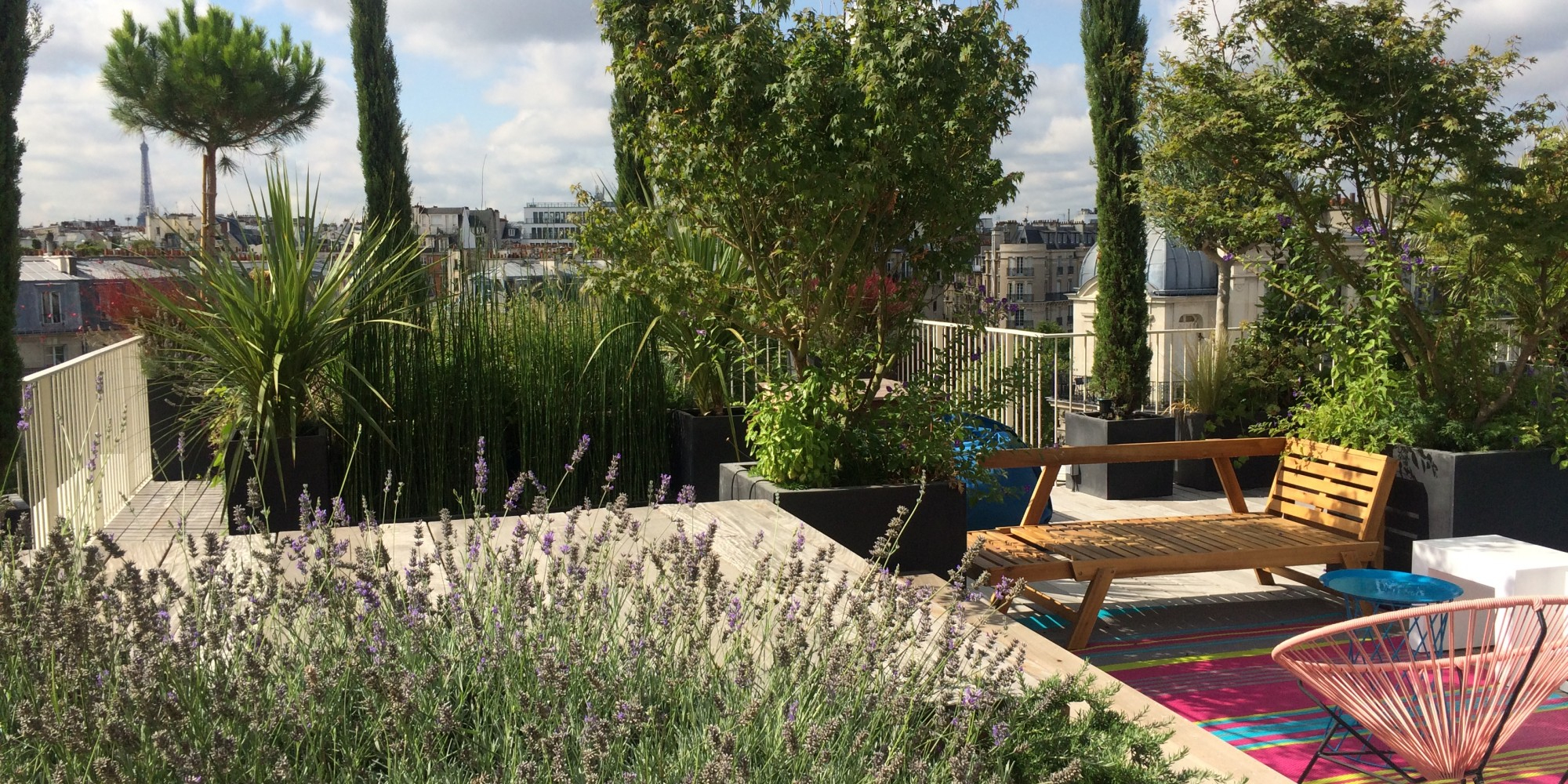 Urban-Green - Un Jardin À Vos Fenêtres, Paysagiste Paris à Terrase De Jardin