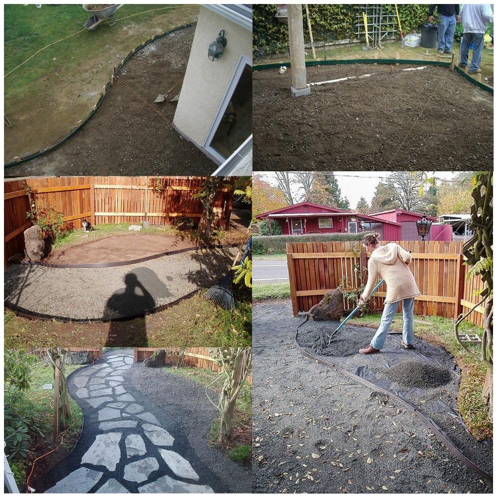 Us $54.82 34% Off|Plastic Pe Garden Lawn Path Border Edging Roll Villa Park  Landscape Garden Edging 50Mx0.1M Lawn Fence Bordure De Jardin|Fencing, ... encequiconcerne Bordure De Jardin Beton 1M