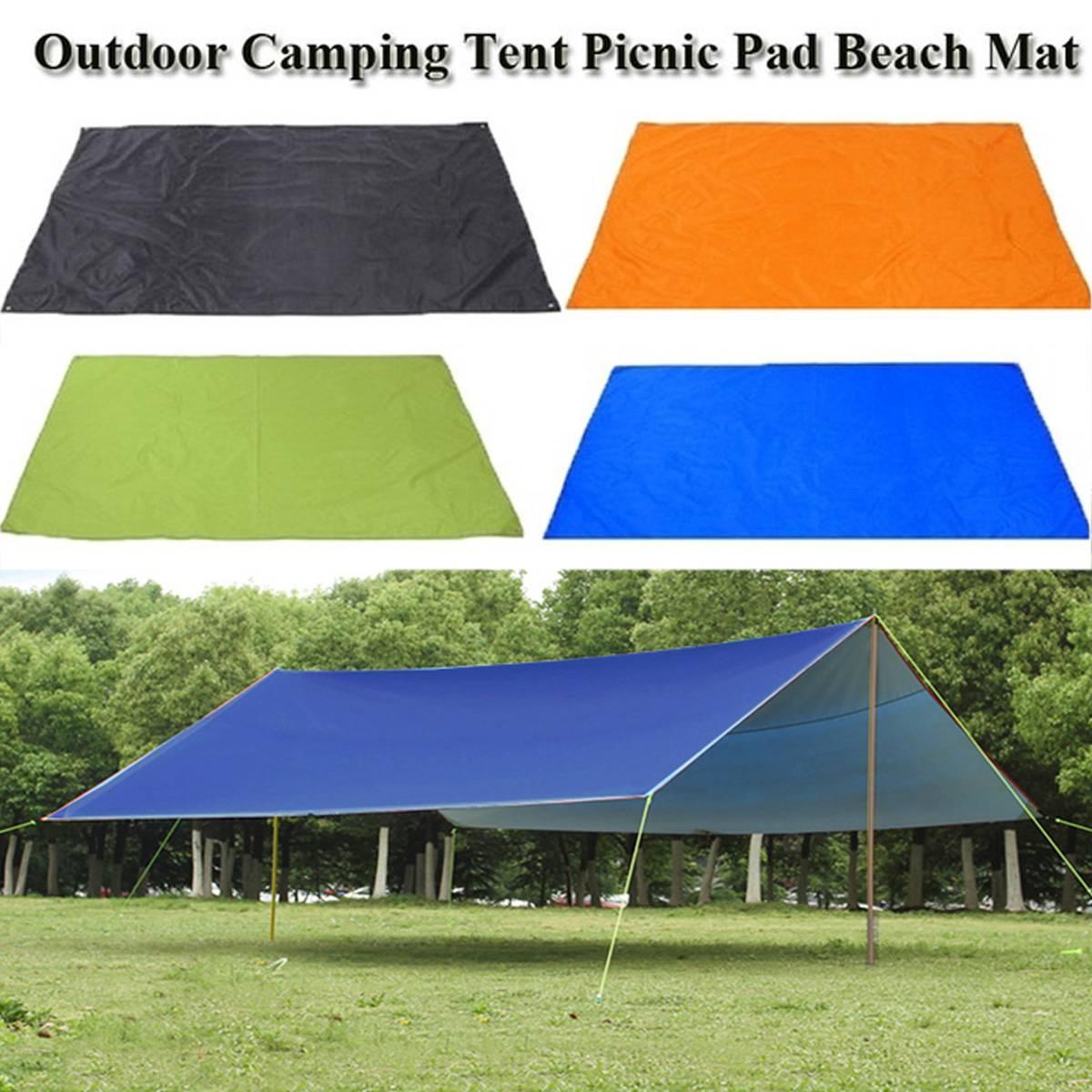 Us $8.5 15% Off|Beach Sun Shelter Tarp Waterproof Tent Shade Ultralight Uv  Garden Awning Canopy Sunshade Outdoor Camping Hammock Rain Fly|Sun Shelter|  ... serapportantà Abri De Jardin Super U