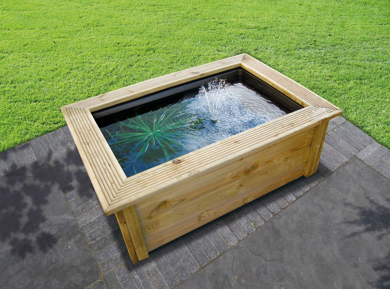 Utiliser Un Bassin Préformé Pour Son Bassin Hors Sol concernant Kit Bassin De Jardin