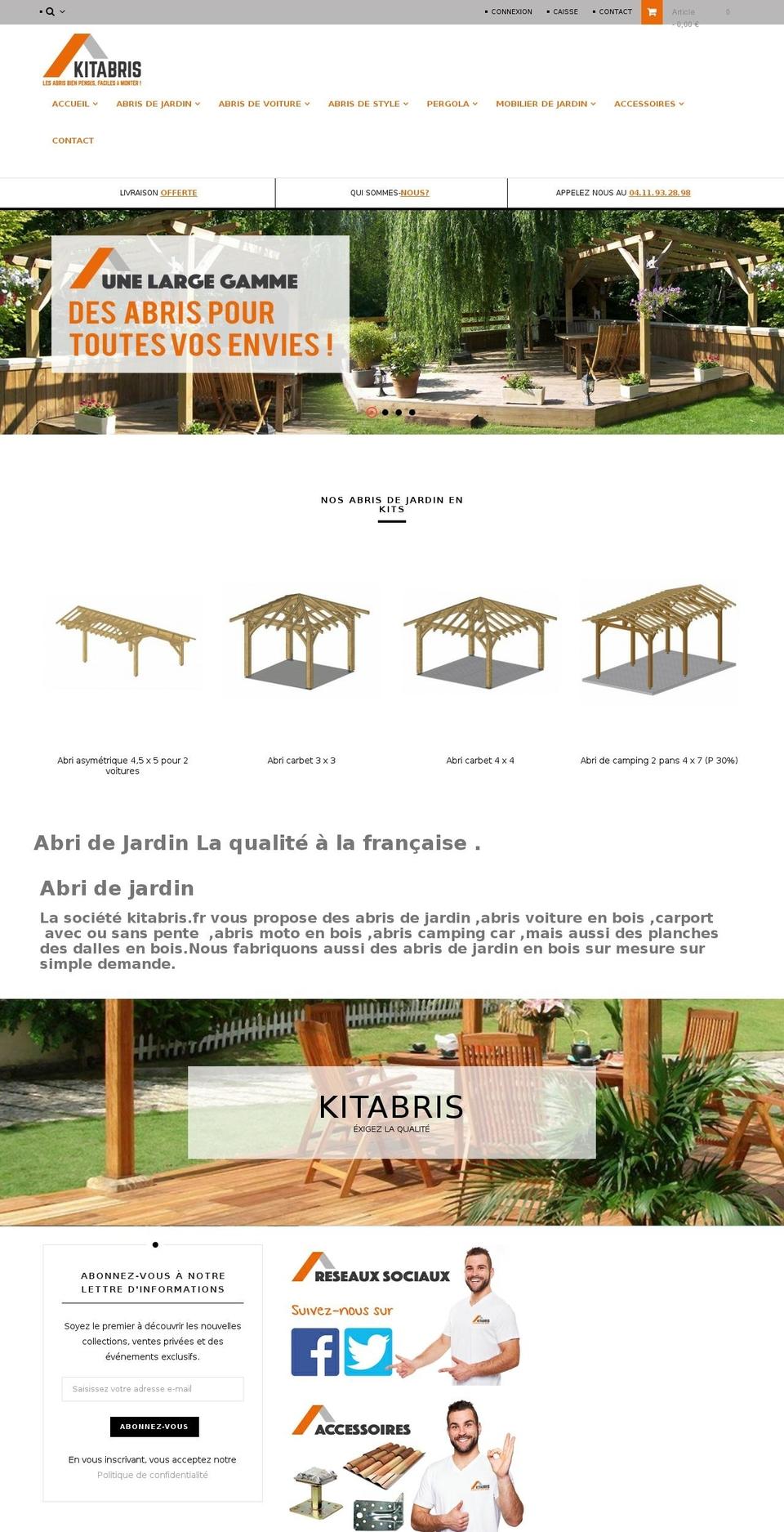 Vel_Amote Prestashop Theme Store Examples, Vel_Amote Theme ... concernant Abri Moto Jardin