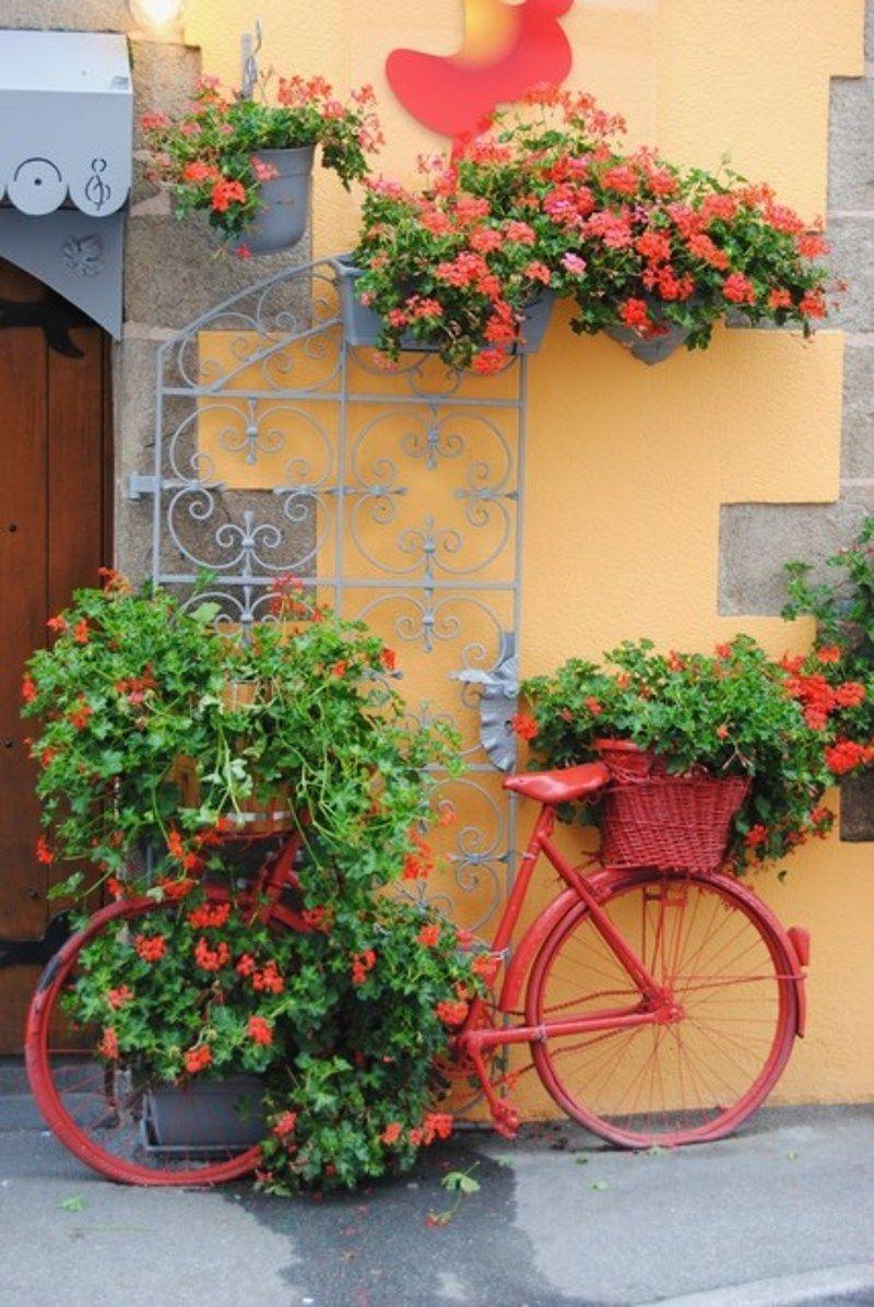 Vélos Fleuris pour Velo Deco Jardin