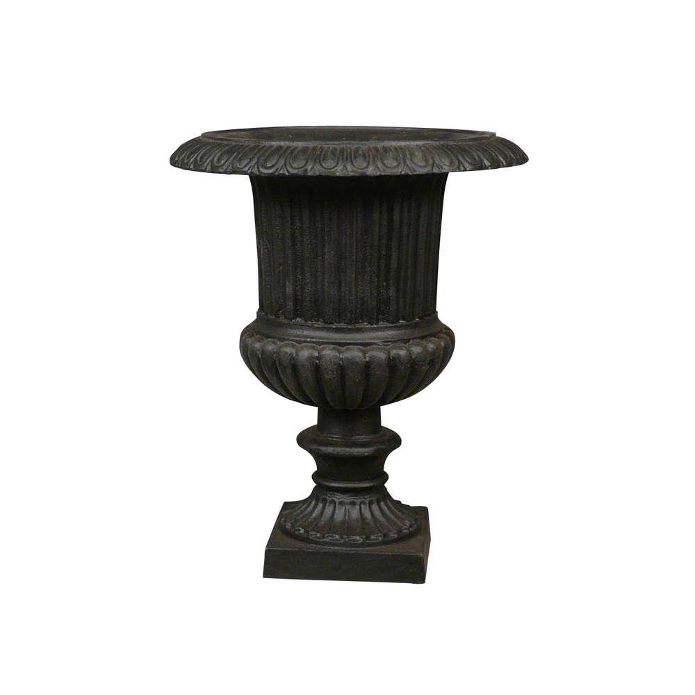 Venetian Cast Iron Urn - Vase Medicis avec Pot En Fonte Pour Jardin