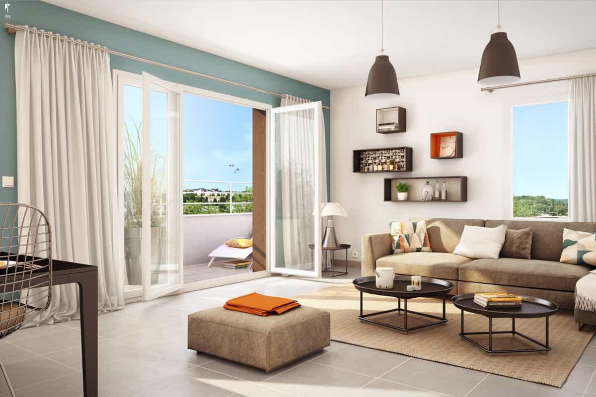 Vente Appartement, Nouveaux Programmes, Loi Pinel, Rh Ne ... encequiconcerne Les Jardins Du Château Annecy