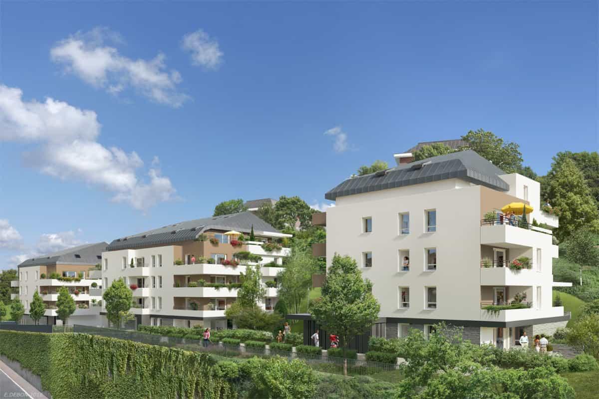 Vente Appartement, Nouveaux Programmes, Loi Pinel, Rh Ne ... serapportantà Les Jardins Du Château Annecy