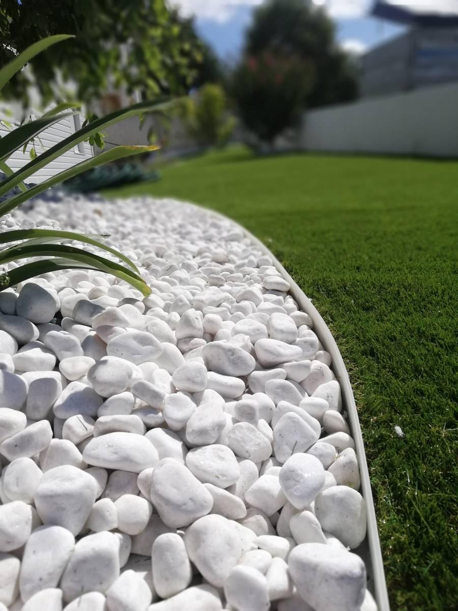 Vente Galets Blanc Pur 12/20 Ou 40/60 - Vente Et Pose De ... dedans Galet Blanc Jardin Pas Cher