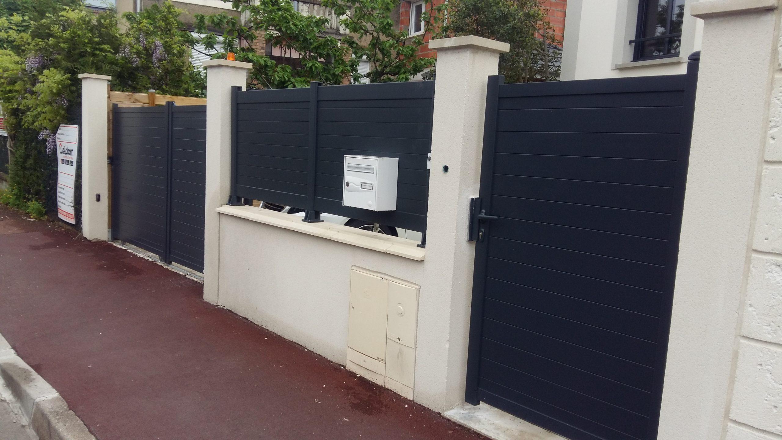 Vente Portail De Jardin - Spot Habitat encequiconcerne Portillons De Jardin