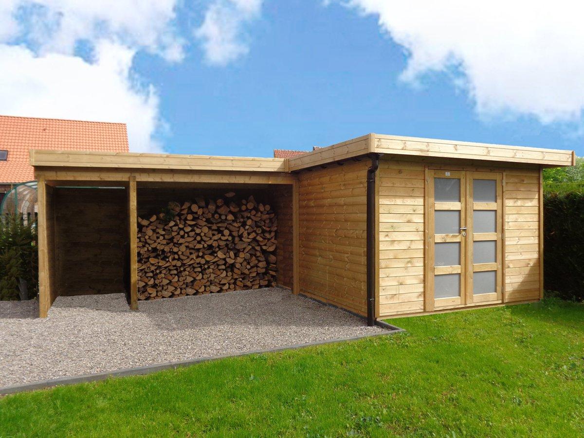 Veranclassic // Optez Pour Une Construction En Bois Sur Mesure! concernant Abri De Jardin Sur Mesure