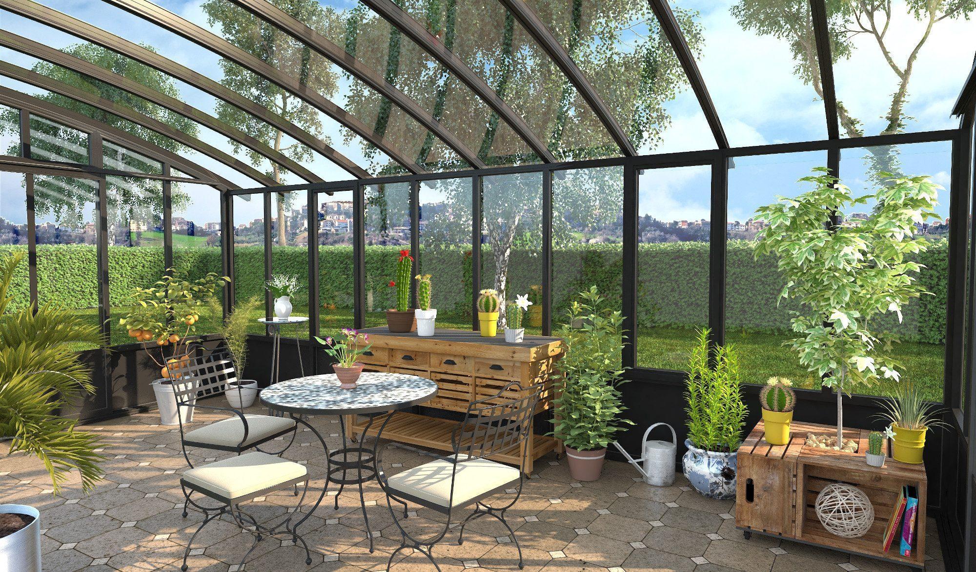 Vérandas Jardin D'hiver - Ad Diffusion : Ad Diffusion pour Verriere Jardin