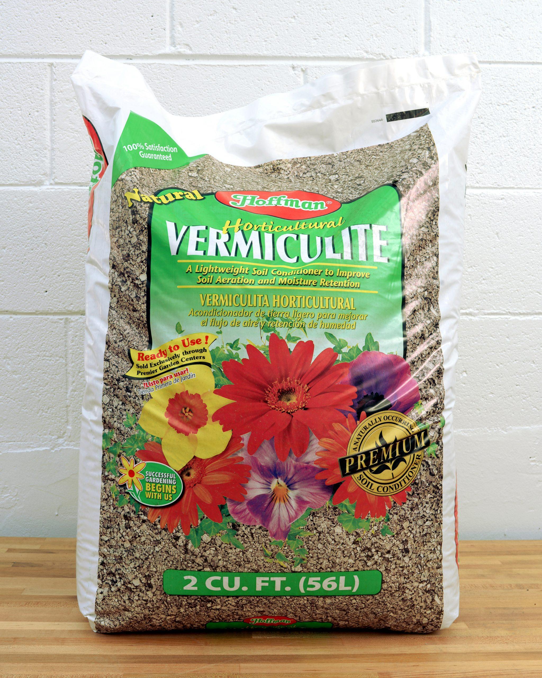 Vermiculite, 2 Cu Ft Bag serapportantà Vermiculite Jardin