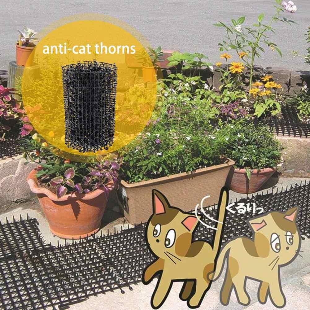 Vert Jardinage Plastique Jardin Chat Chien Scat Tapis Chats ... à Repulsif Chat Jardin