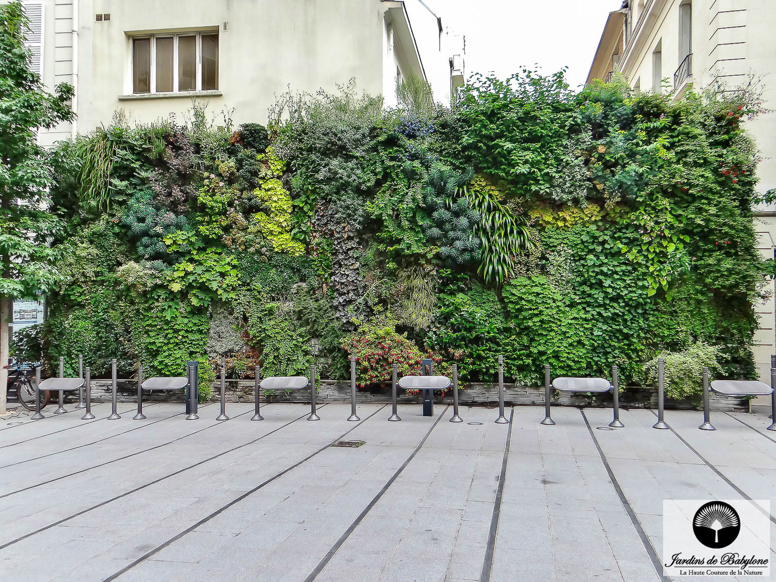 Vertical Garden: Light On This Discipline 100% French! tout Geotextile Jardin