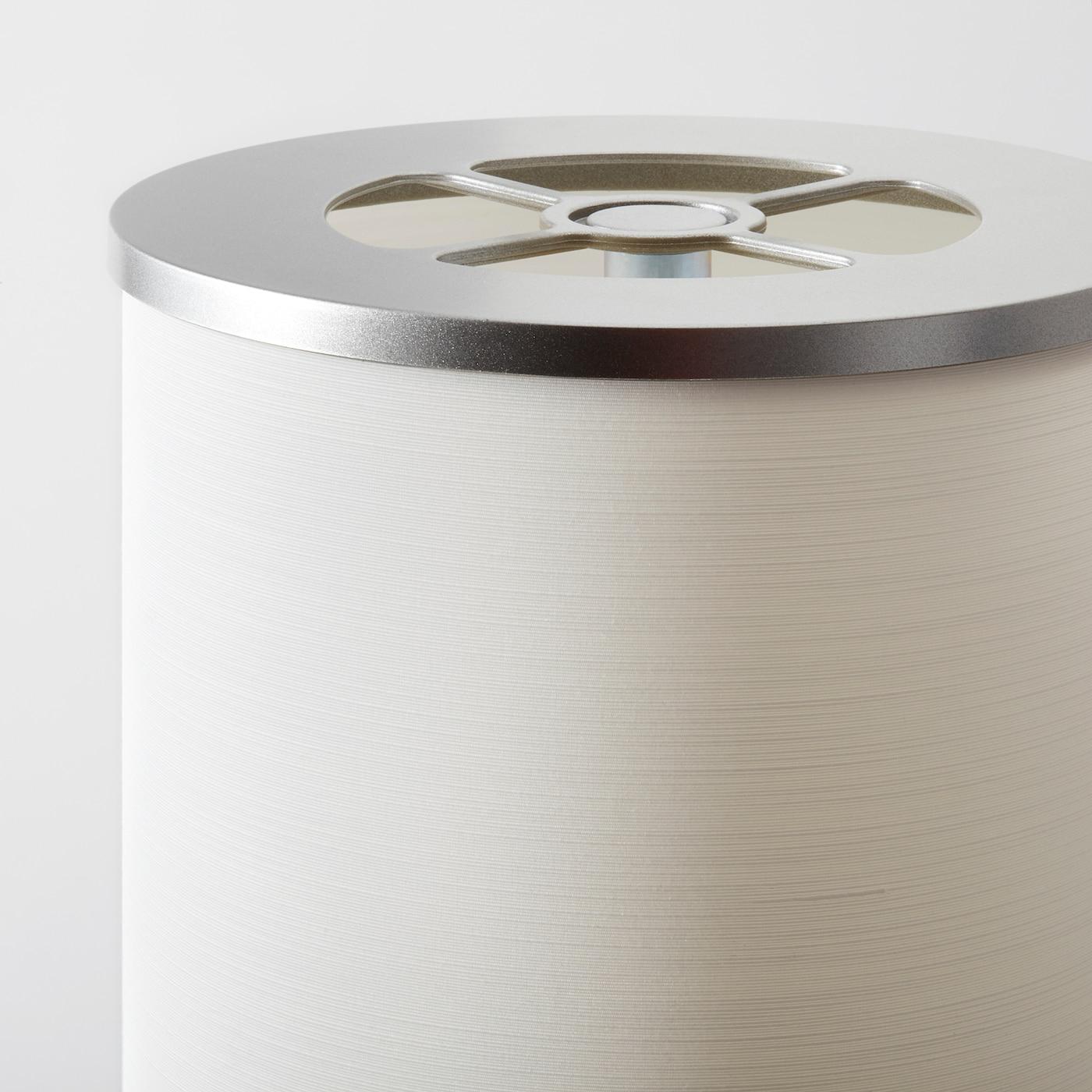 Vidja Lampadaire - Blanc 138 Cm à Table Jardin Plastique Ikea