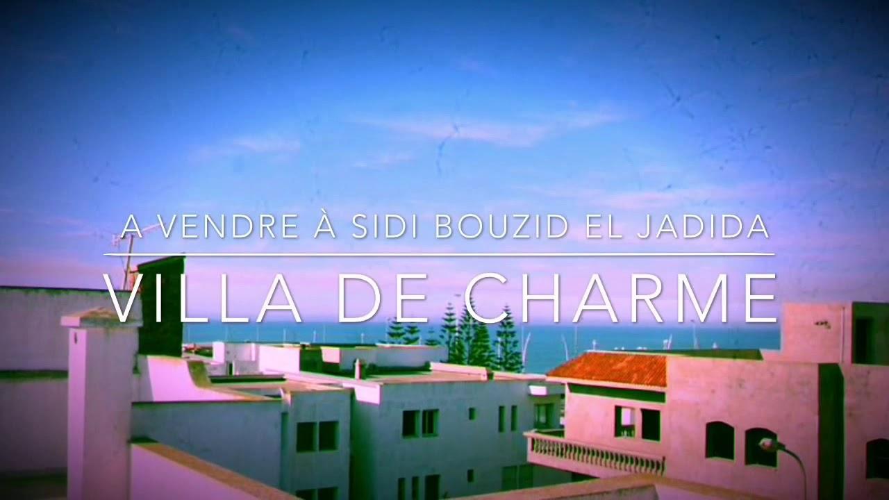 Villa De Charme À Vendre À Sidi Bouzid D'el Jadida - pour Les Jardins D El Jadida