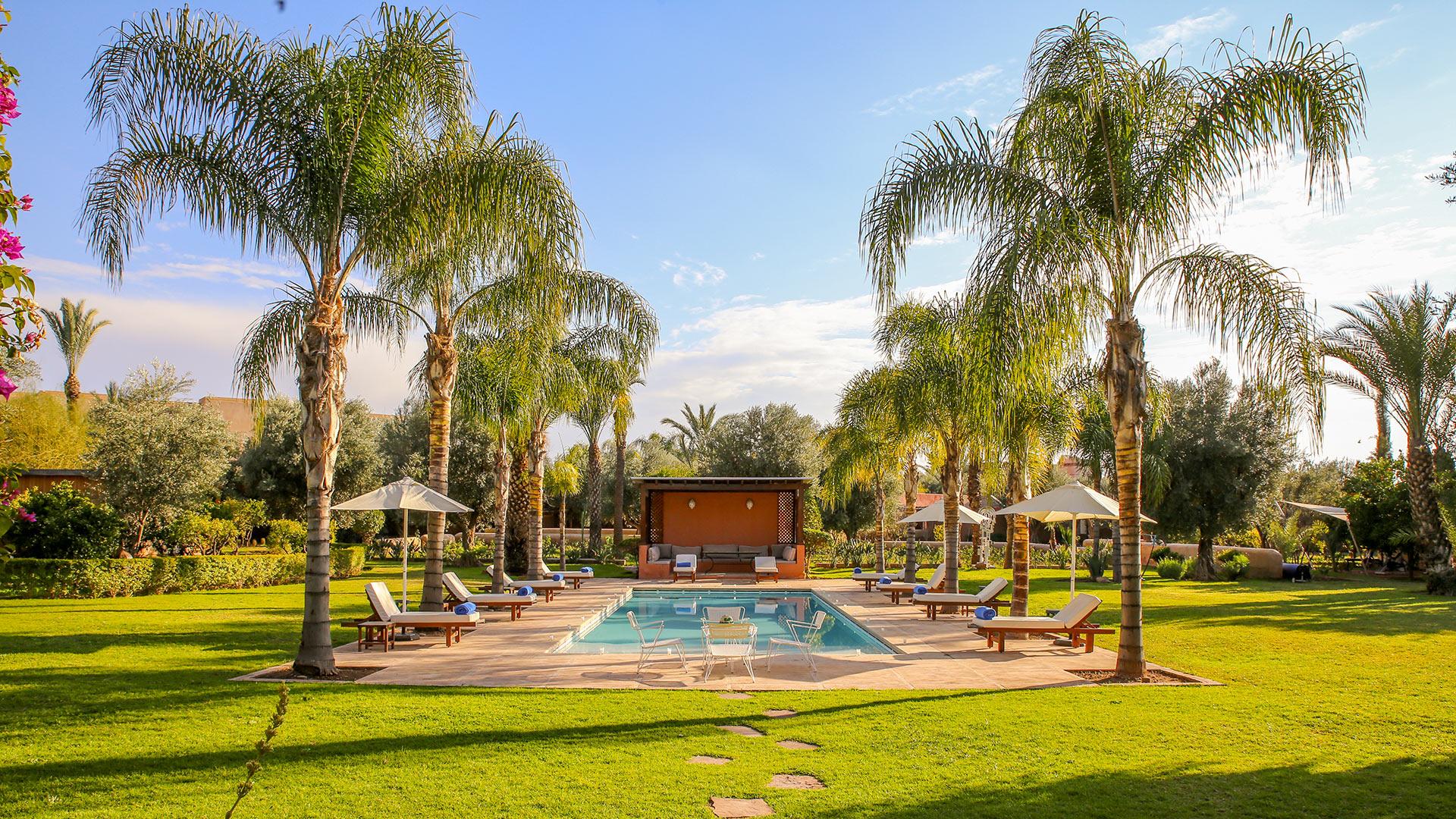 Villa Des Jardins & Lodges - Villa Rental In Marrakech ... intérieur Les Jardins Des Villas