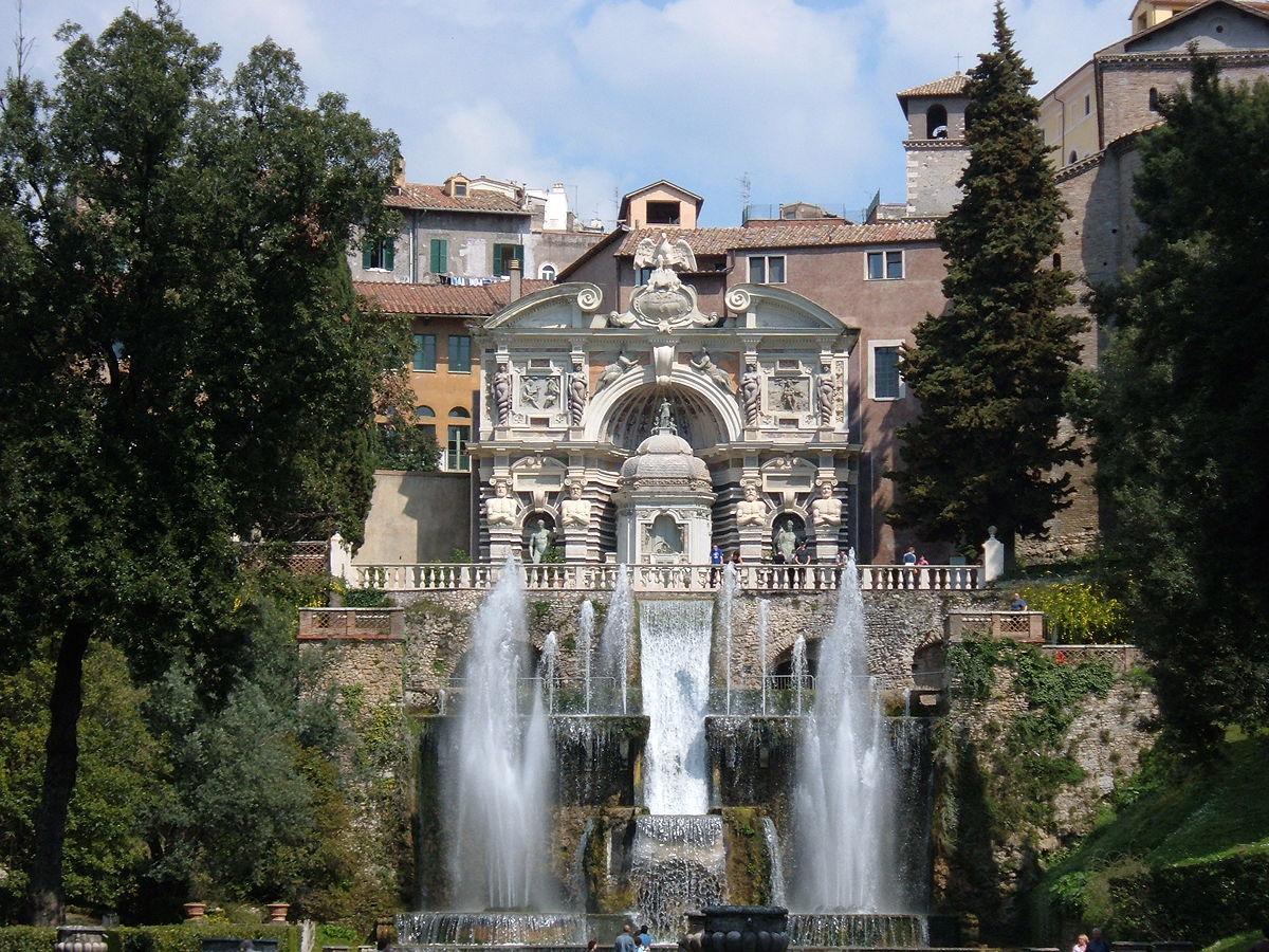 Villa D'este - Wikipedia avec Jet D Eau Pour Fontaine De Jardin