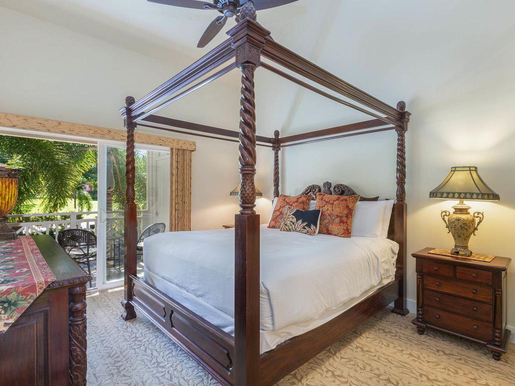 Villa Jardin 4 Chambres 3 Salles De Bain. Valeur Incroyable! - Poipu concernant Salon De Jardin Hawai