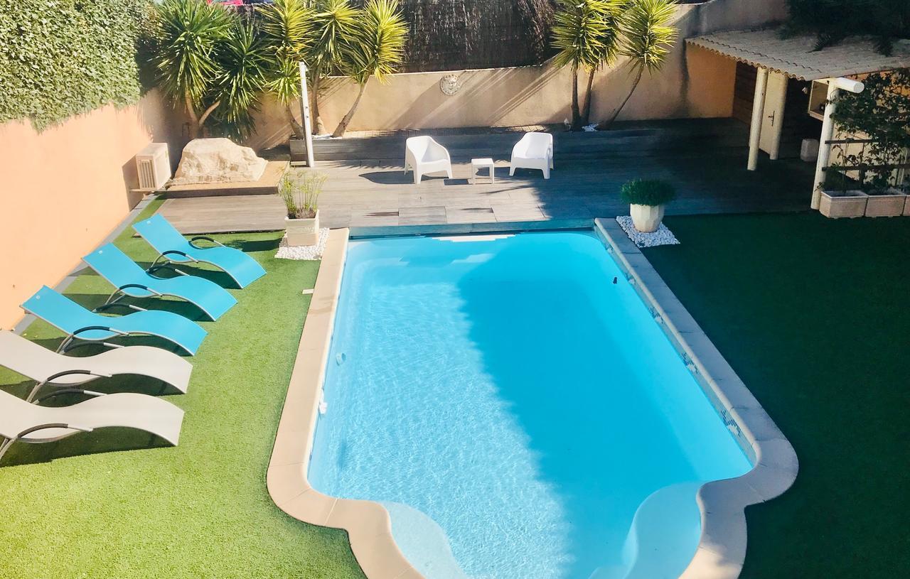Villa Madysan (Fransa Saint-Aygulf) - Booking tout Geant Casino Salon De Jardin