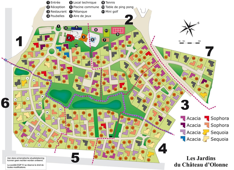 Villa Met Ligging Aan Les Sables D'olonne Grote Badplaats In ... pour Les Jardin Du Chateau D Olonne