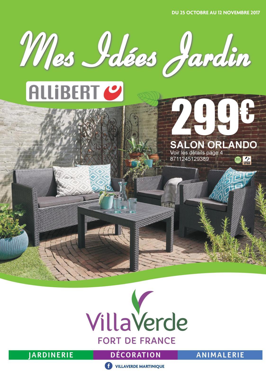 Villaverde - Mes Idées Jardin - Calameo Downloader à Salon De Jardin Villaverde