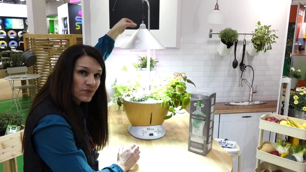 Vilmorin Jardin : Carole Hus Présente Vittoria, Le Jardin D'intérieur  Hydroponique Kitchen Gardening encequiconcerne Vermiculite Jardin