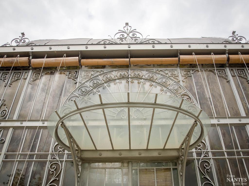 Visite Des Serres Du Jardin Des Plantes De Nantes tout Serre De Jardin Occasion