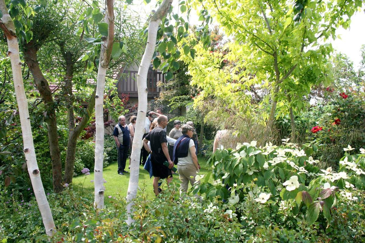 """Visite Du Jardin """"a Fleur D'écorces"""" - Le Blog De Pjh avec Ecorces Jardin"""