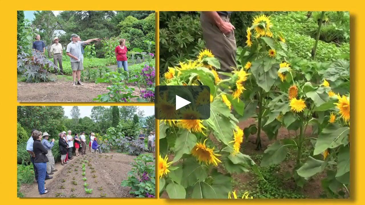 Visites De Jardins Écologiques On Vimeo destiné Jardins Écologiques