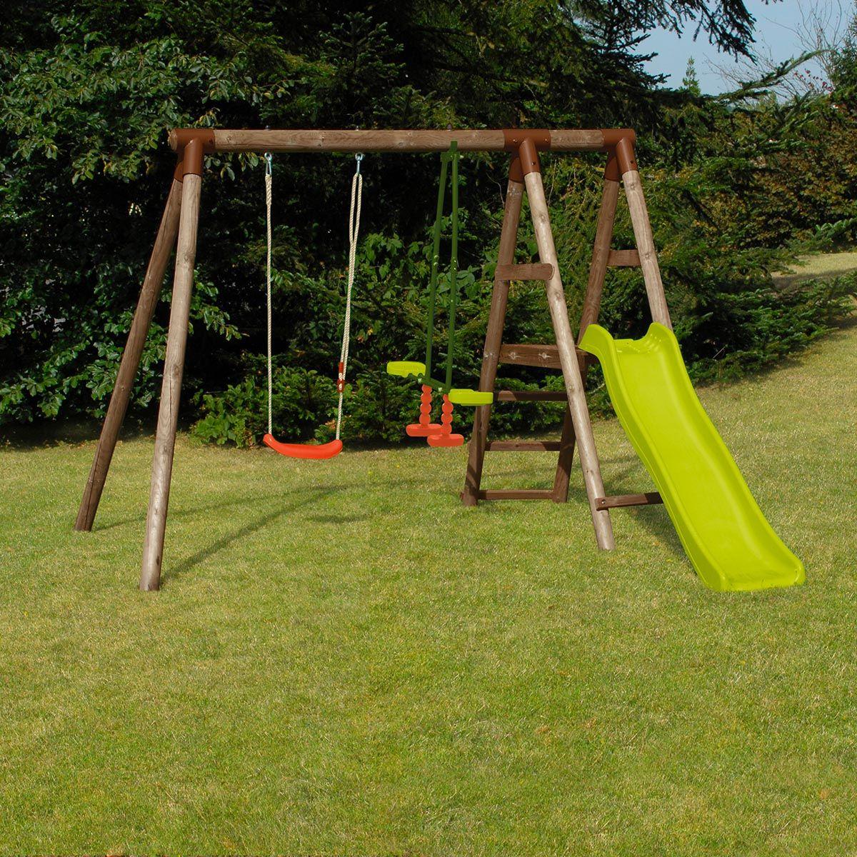 Voici Une Mini Station Idéale Pour Les Petits Jardins ! La ... à Balancoire Pour Petit Jardin