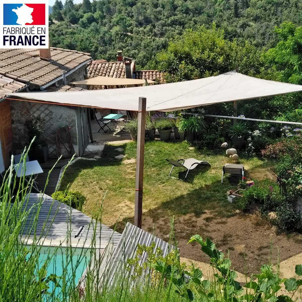 Voile D'ombrage - Filet De Protection Plantations Et Terrasse dedans Filet De Protection Jardin