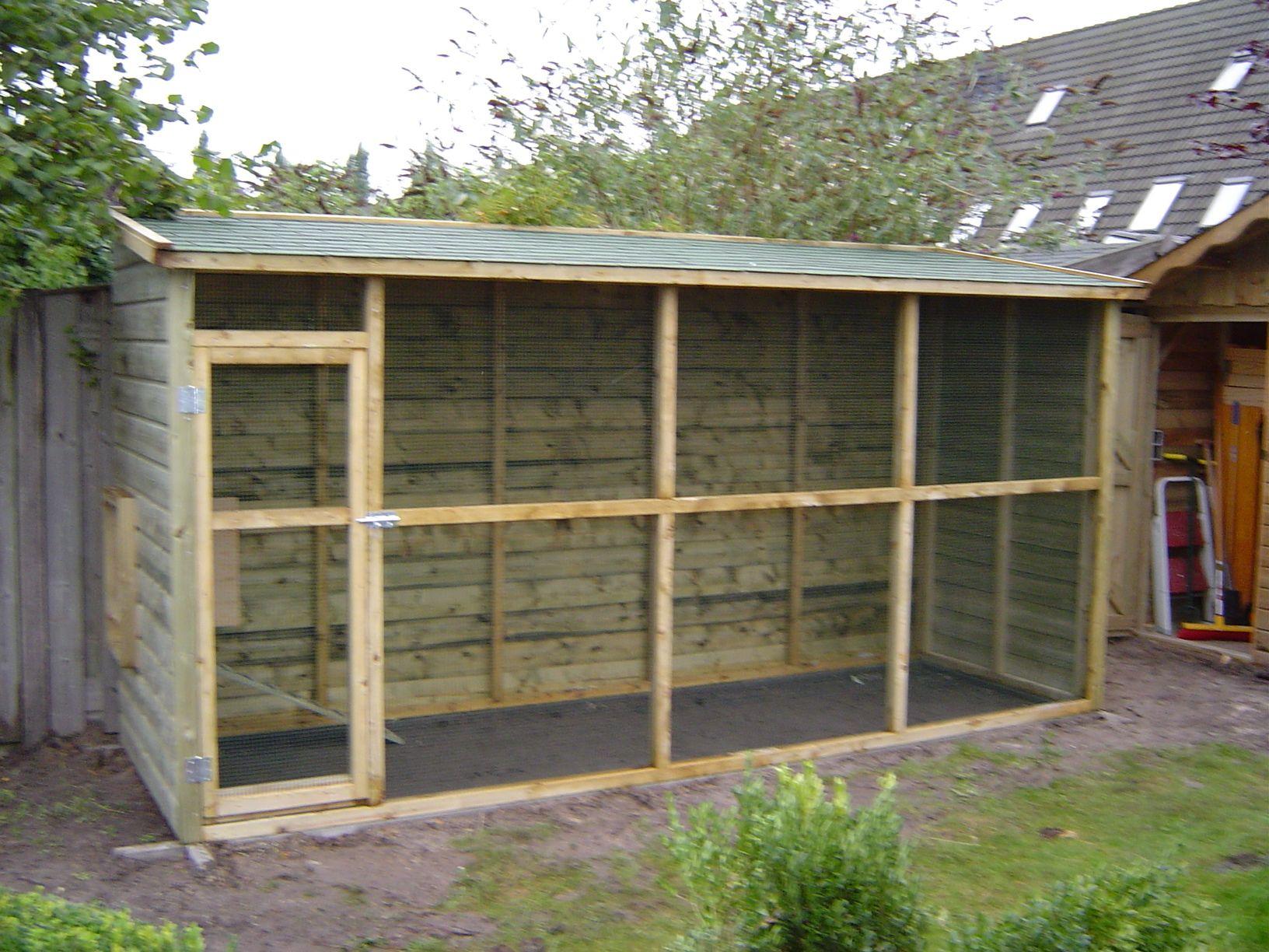 Voliere - Google Zoeken   Bird Aviary, Chickens Backyard ... tout Voliere De Jardin
