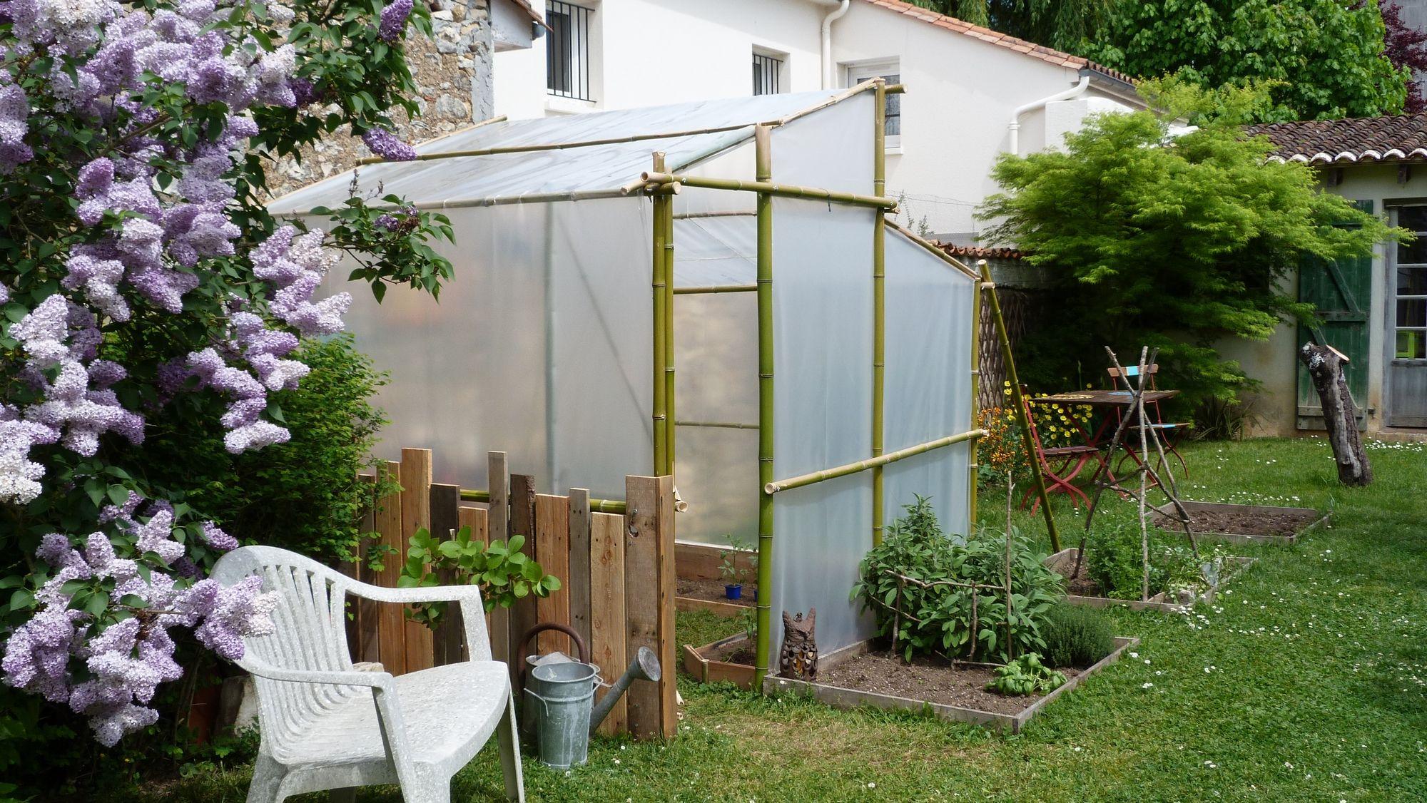 Votre Magazine Pour Le Bricolage Et Le Jardinage | Serre ... concernant Comment Faire Un Tunnel De Jardin