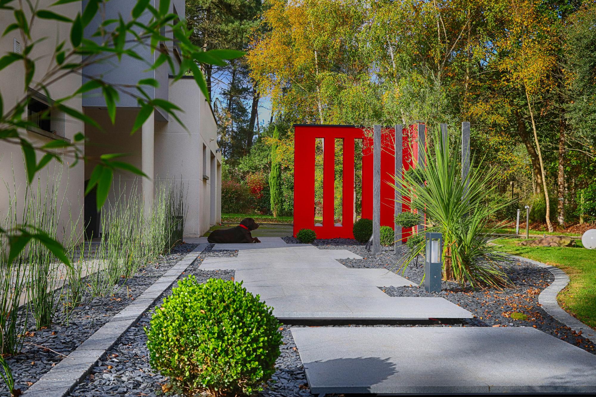 Votre Paysagiste Conçoit, Réalise Et Entretient Votre Jardin ... avec Exemple D Aménagement De Jardin