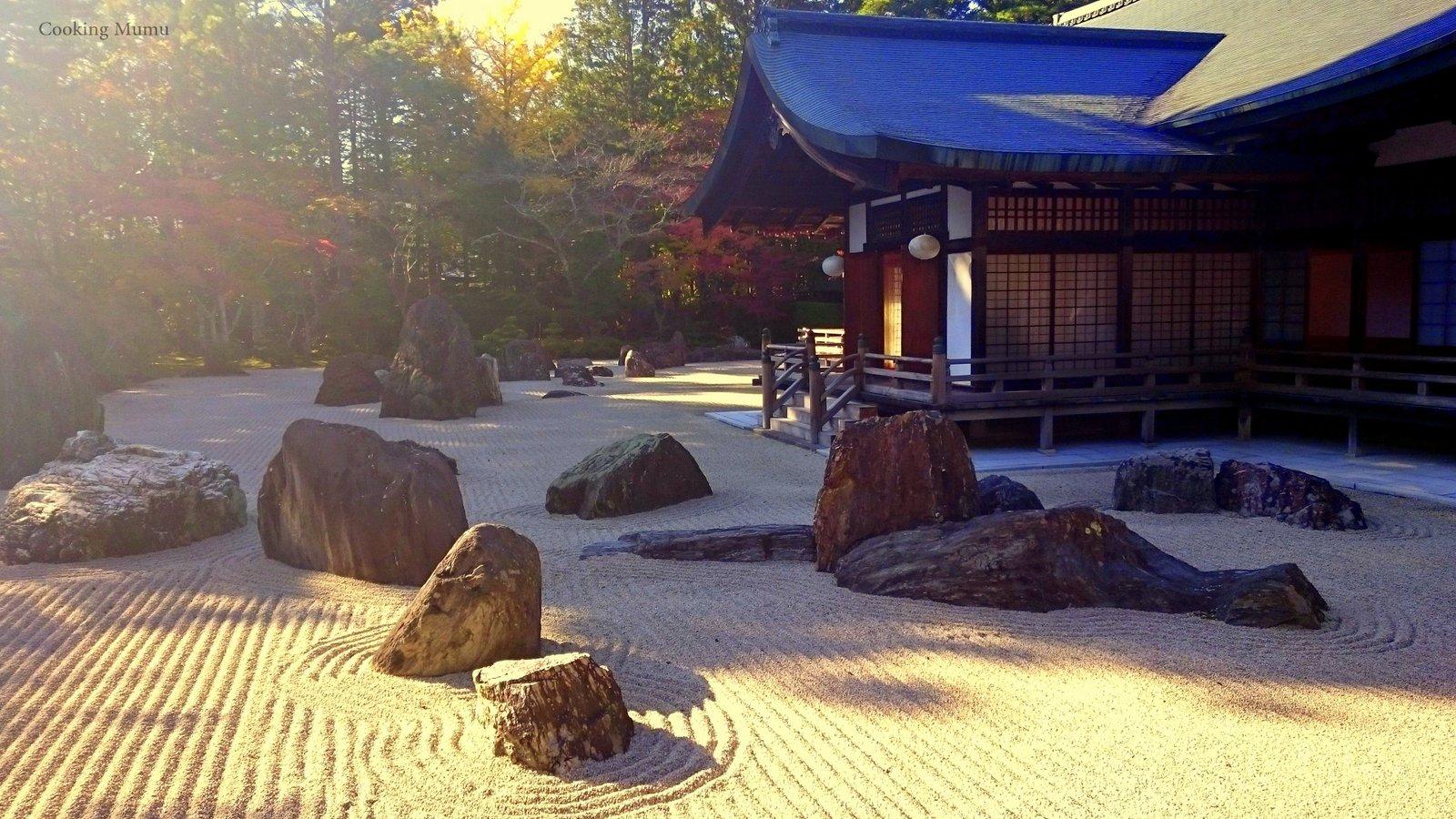 Voyage Au Japon : Koya San | Cooking Mumu pour Jardin Zen Belgique
