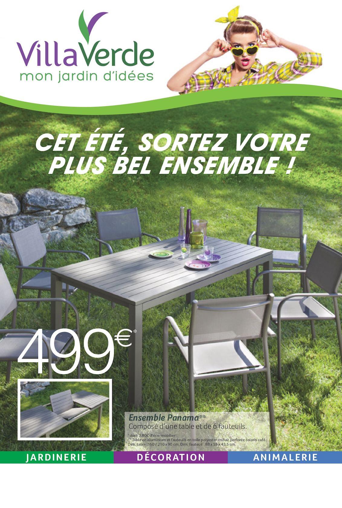 Vv Ete1 Depliant 8P Mobilier Jardin - Calameo Downloader pour Mon Mobilier De Jardin