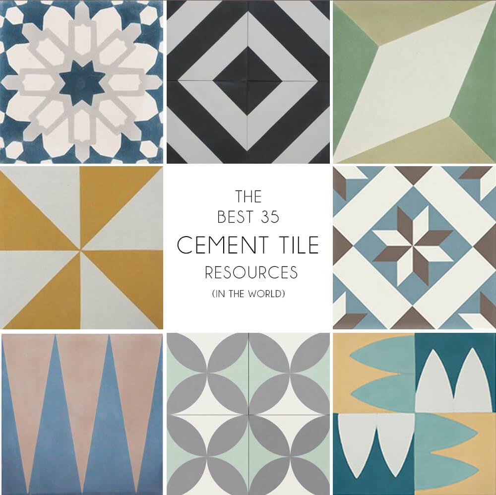 Where To Buy Cement Tiles - Emily Henderson avec But Salon De Jardin