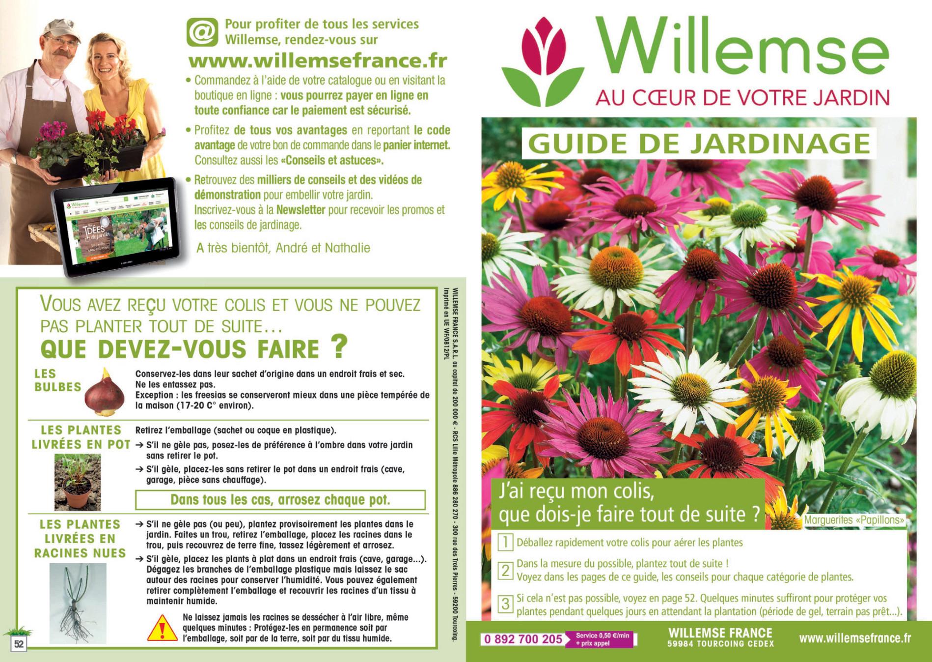 Willemse - Guide De Jardinage Willemse - Page 1 - Created ... tout Idee De Plantation Pour Jardin