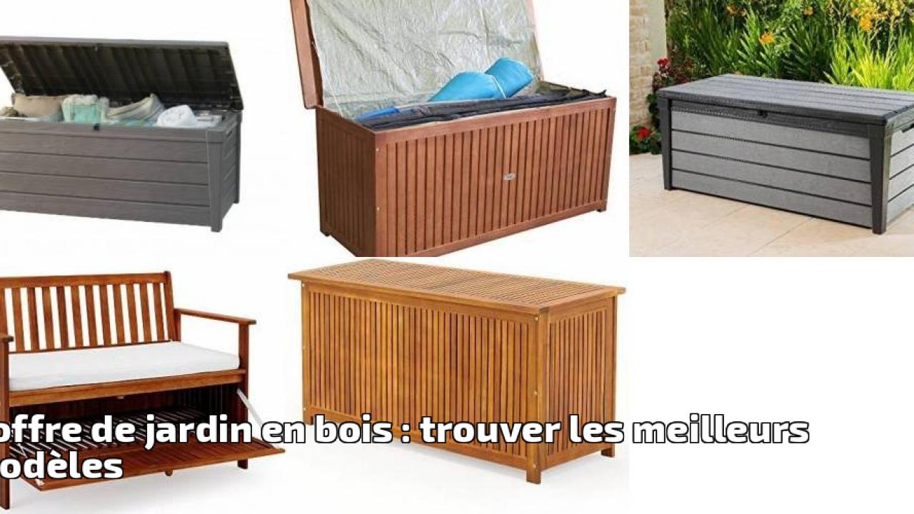 Wiltec Coffre Rangement Jardin Coussins Jouets Enfants ... tout Malle Jardin