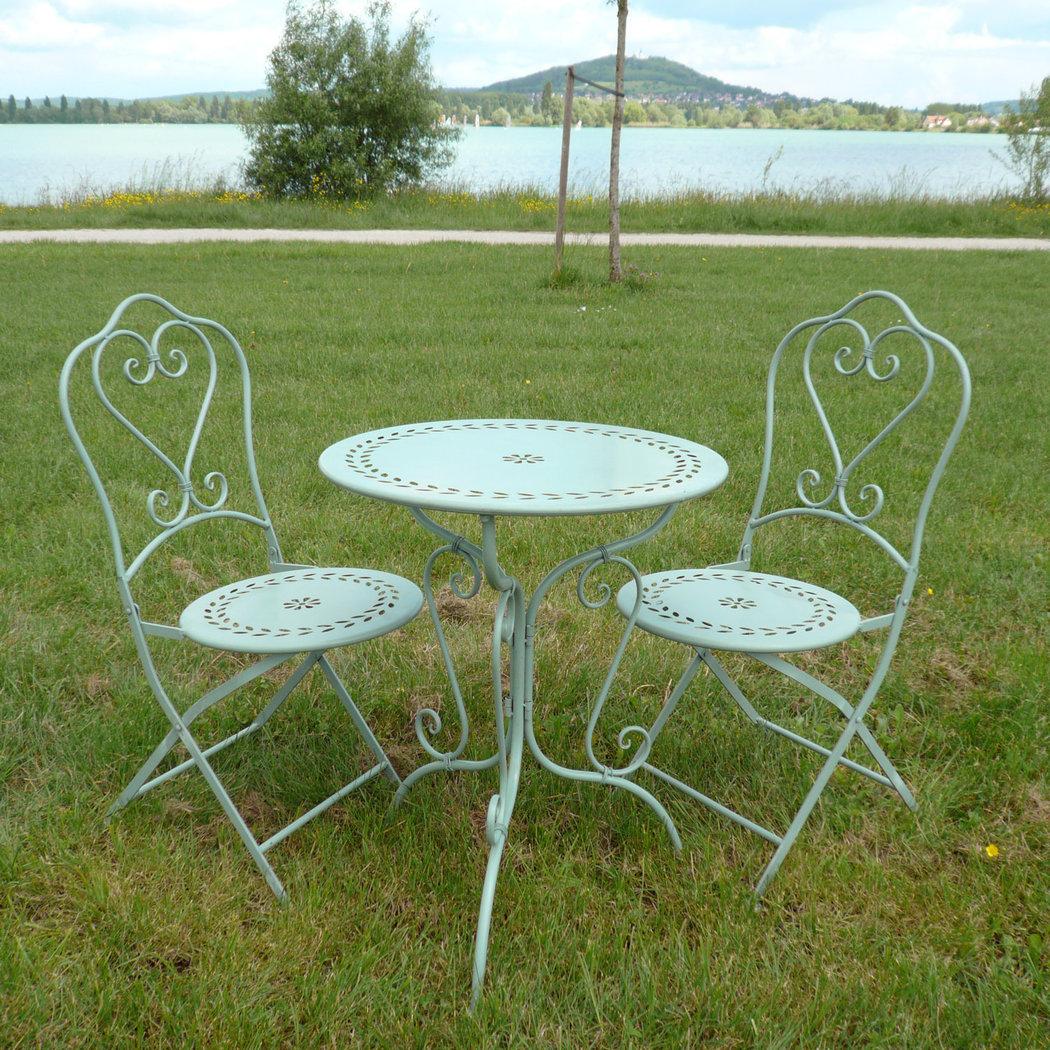 Wrought Iron Garden Furniture serapportantà Salon De Jardin En Fer Forgé