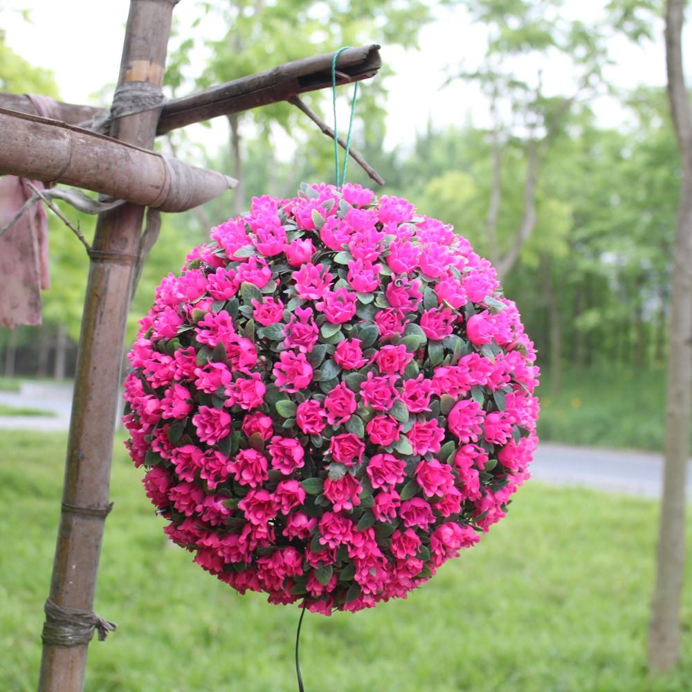 Xyhp201804270038 Boule De Fleur Solaire S'allume Lumières Décoratives  Jardin Jardin Hangin concernant Boule Décorative Jardin